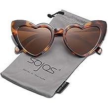 5db9ddd742 Heart Shaped Sunglasses Clout Goggle Vintage Cat Eye Mod Style Retro  Glasses Kurt .