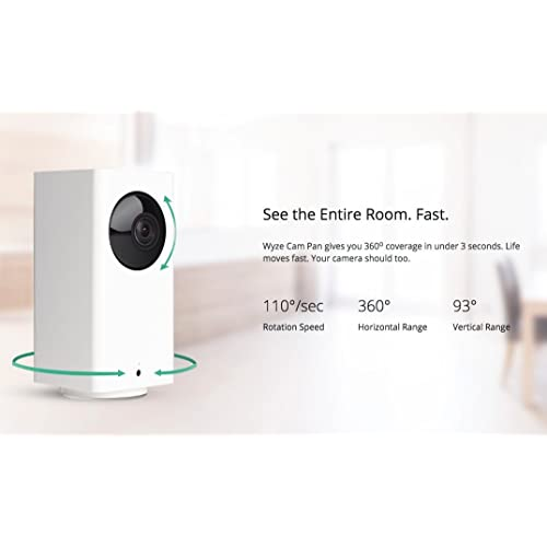 Buy Wyze Cam Pan 1080p Pan/Tilt/Zoom Wi-Fi Indoor Smart Home