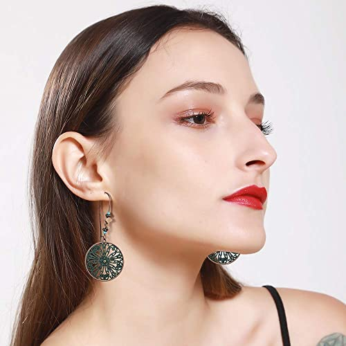 e31abd7a747d9 Buy SUNNYOUTH Vintage Statement Drop Dangle Earrings Bohemian ...