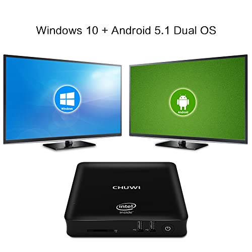 Buy CHUWI HiBox Smart Mini PC 4G 64G Quad Core Intel x5