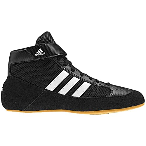 purchase cheap f2152 26a06 adidas Men s Boy s HVC2 Wrestling Mat Shoe Ankle Strap 2 Colors AQ3325