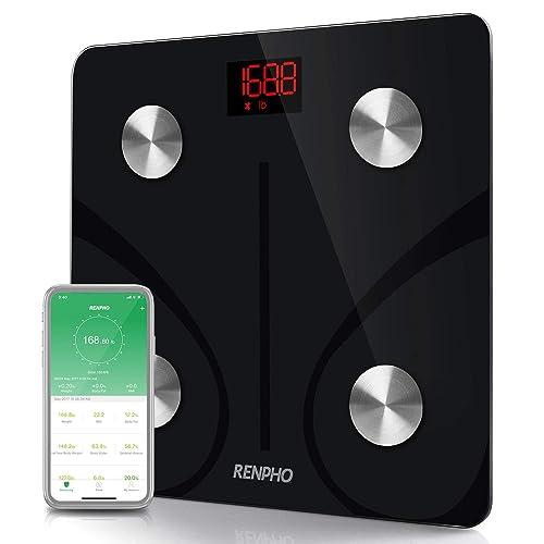 Buy RENPHO Bluetooth Body Fat Scale Smart BMI Scale Digital