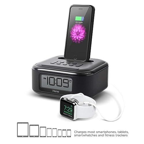 Buy iHome iPL23 Alarm Clock FM Radio with Lightning iPhone