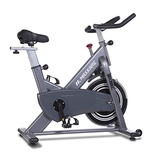 MaxKare Magnetic Exercise Bike,Stationary Bike Belt Drive,Spin Bike Indoor  Cycling Bike,Gym Level with High Weight Capacity Adjustable Magnetic