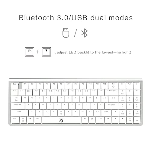 e3ff7c5d2d6 Buy DREVO Joyeuse 96 Key Ultra Thin Mechanical Gaming Keyboard Wired ...