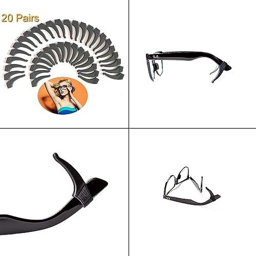 dd694d6bb28 20 PAIRS Keepons Superstretch Black Prevent Eyeglass Slipping Anti Slip  Anti Slide Eyewear Sunglasses Spectacles Glasses