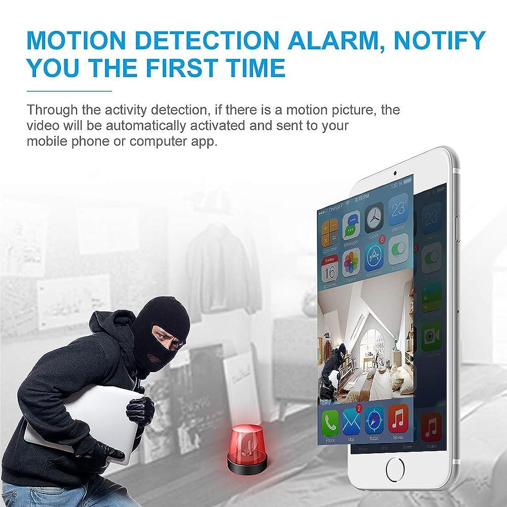 Apartment Search App: Buy AOBO Mini Spy Camera Wireless Hidden Home WiFi