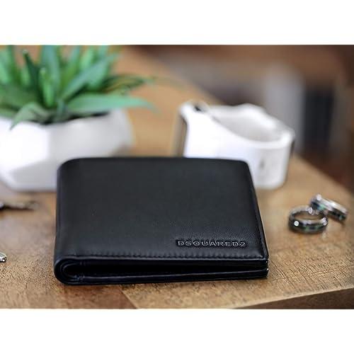 1f2c1dfcbc8f Buy DSQUARED2 Men Black Wallet - Bifold Designer Wallets For Men ...