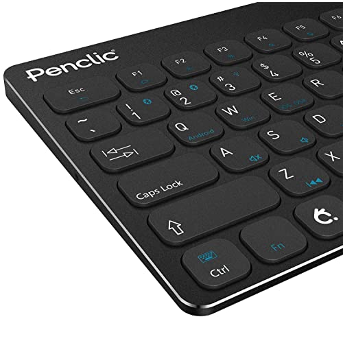 f75f6985065 Penclic KB3 Wireless Bluetooth Ergonomic Mini Keyboard for Mac, iPad,  iPhone, Windows OS