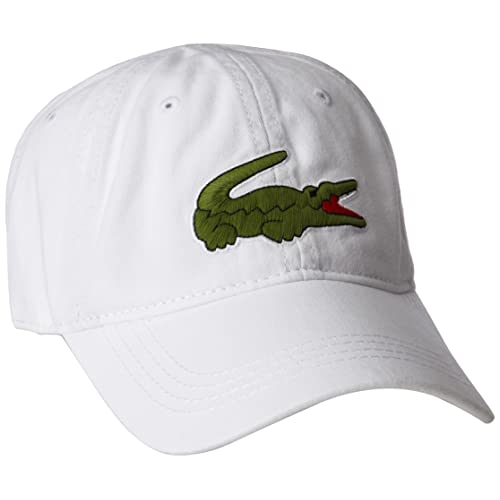 dd1887be Buy Lacoste Men's Big Croc Gabardine Cap with Ubuy South Africa ...