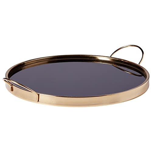 Rivet Contemporary Metal Tray 2 5h Black Gold Buy Products Online With Ubuy South Africa In Affordable Prices B07b8nv9tk