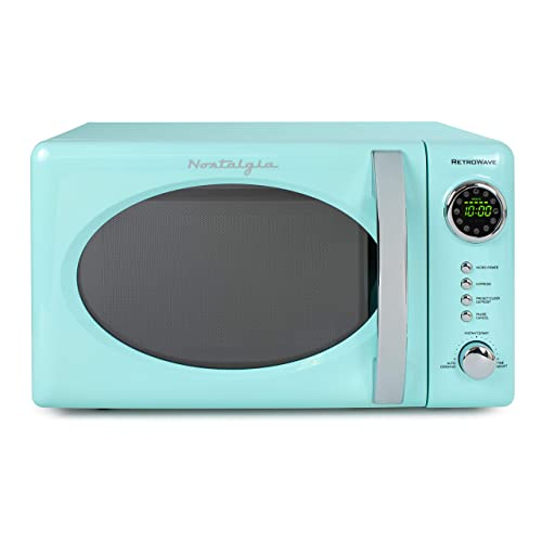 Retro 0 7 Cubic Foot Microwave Oven