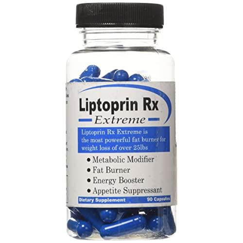 Liptoprin Rx Extreme 90 Capsules Natural Weight Loss Pills That Works Fast For Men Women Best Appetite Suppressant And Thermogenic Fat Burners