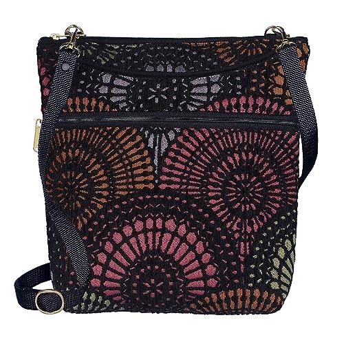14fc698c1100 Buy Danny K Women's Tapestry Bag Crossbody Handbag, Maggie Purse ...