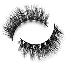 3a0b8729632 Lilly Lashes 3D Mink Mykonos | False Eyelashes | Dramatic Look and Feel |  Reusable .