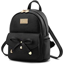 9babde9c8833c2 Cute Mini Leather Backpack Fashion Small Daypacks Purse for Girls and Women