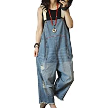 39da7ad3ce02 YESNO P60 Women Jeans Cropped Pants Overalls Jumpsuits Hand Painted Poled .
