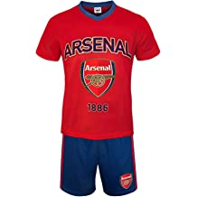 d1198c8ac Arsenal Football Club Official Soccer Gift Boys Kids Kit Pajamas Red White