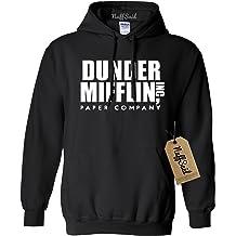 5a7bf04a2 NuffSaid Dunder Mifflin Hooded Sweatshirt Sweater Hoodie - Premium Quality  TV Shirt .