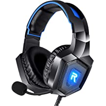 0745ab0fc07 RUNMUS Gaming Headset PS4 Headset with 7.1 Surround Sound, Xbox One Headset  w/ .