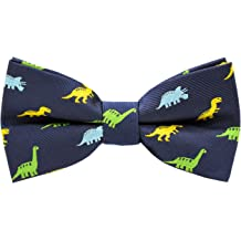 b24585b8cc68 Carahere Boys Handmade Adjustable Pre-Tied Pattern Bow Ties For Kids  Toddler Bow Ties